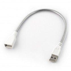 Przewód zasilający USB A-A - 30cm