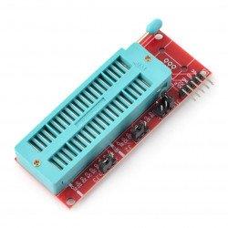 Moduł z podstawką testową 40pin do programowania układów