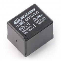 Relay HLS8L-DC5V-S-C - 5V coil, contacts 2x 15A/120VAC