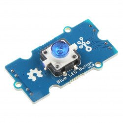 Grove - push button with backlight - blue