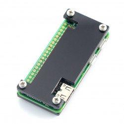 Raspberry Pi Zero Case - Fluo Open - black