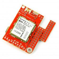 2G/GSM module - u-GSM shield v2.19 M95FA - for Arduino and Raspberry Pi - u.FL connector