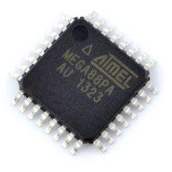 AVR microcontroller - ATmega88PA-AU SMD