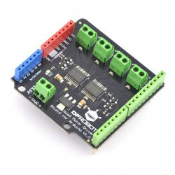 DFRobot Dual DC Motor Driver Shield driver engines for Arduino is 13.5 V/1.2 A
