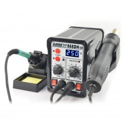 Soldering station Zhaoxin 868DH with hot air - 760W