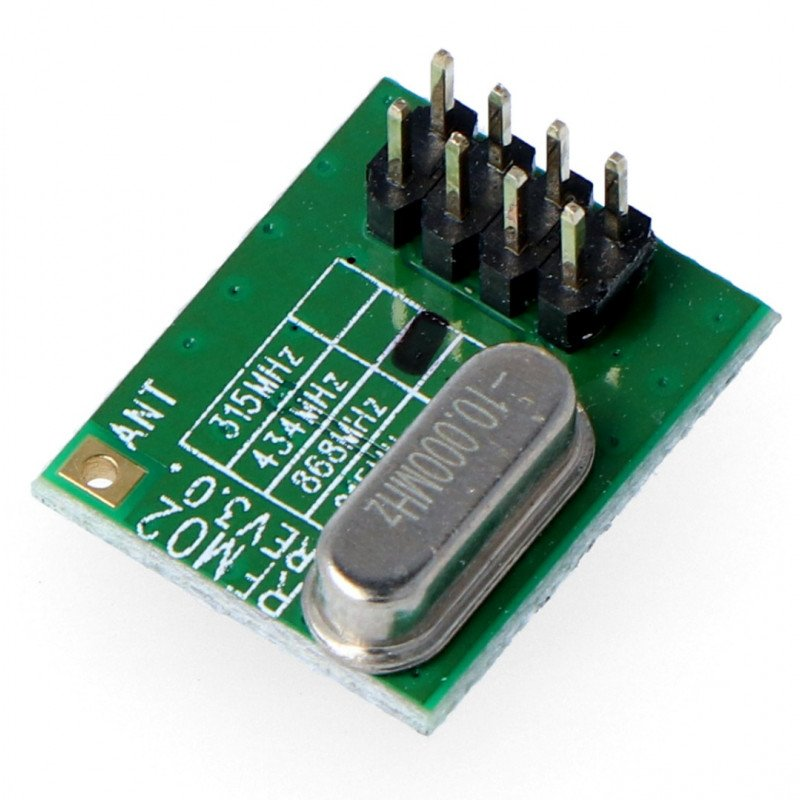 Radio module - RFM02/868D 868MHz - THT transmitter