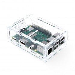 Case Raspberry Pi Model 3B + / 3B / 2B with camera mount -