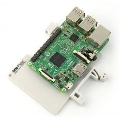 DIN Rail Mount for Raspberry Pi 3