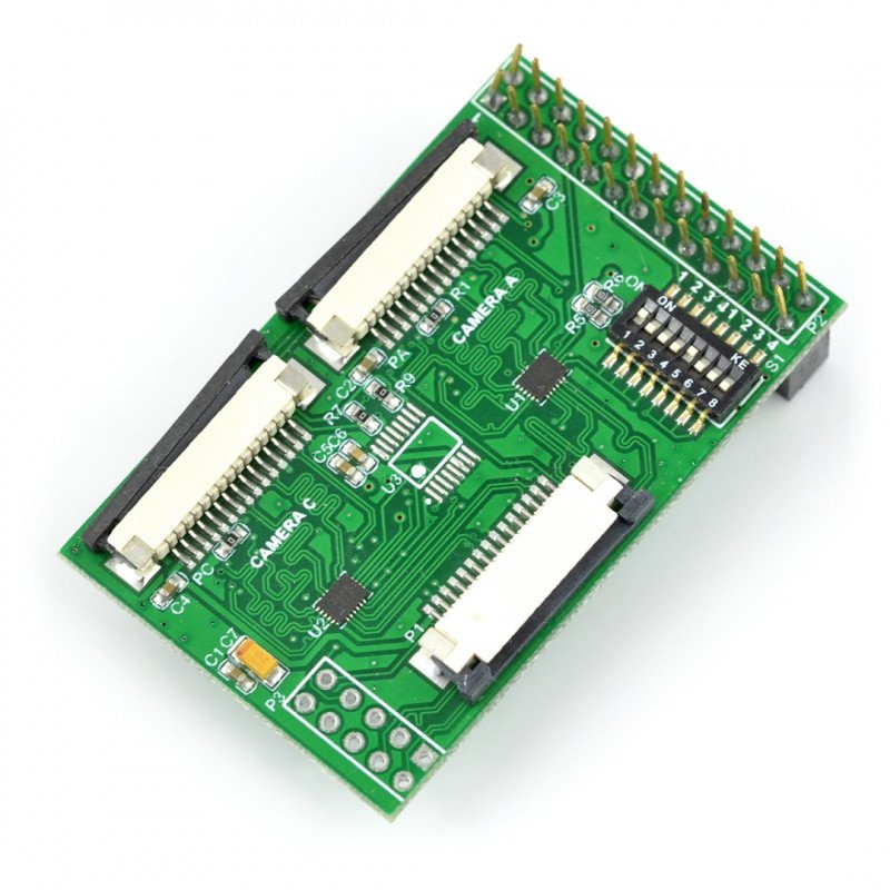 Multi Camera Adapter Module for Raspberry Pi_