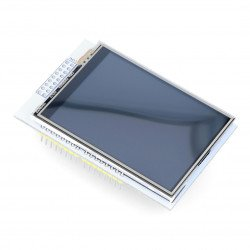 Iduino LCD TFT 2.8'' 320x240px SPI touch screen display with microSD reader - Shield for Arduino