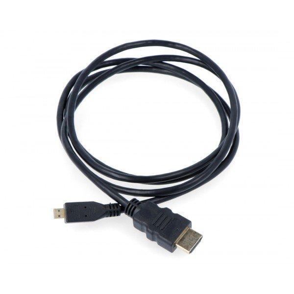 Przewód microHDMI Raspberry Pi