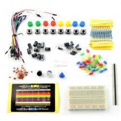 Electronic components kit for Arduino KTS042