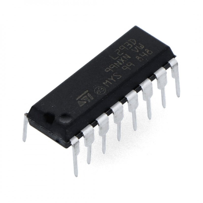 L293D - dual-channel motor controller 36V/0.6A