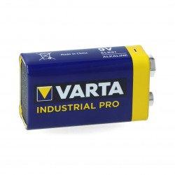 9V 4022 6LR61 Alkaline Battery Varta Industrial