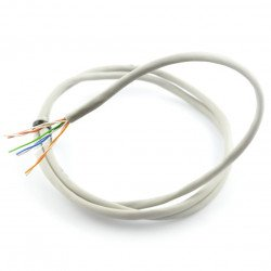The twisted pair cable, wire UTP, Cat. 5e - 20m