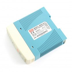 Mean Well MDR-20-5 power supply for DIN rail - 5V / 3A / 15W