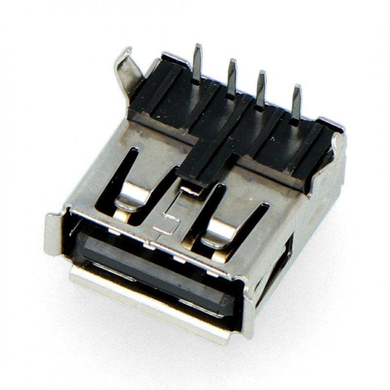 Gniazdo USB  typu A - DIP