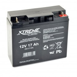 Gel rechargeable battery 12V 17Ah Xtreme