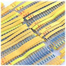 Resistor kit THT 1/4 W tolerant 1% - 1280pcs