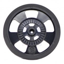 Wheels, servos, solarbotics - black