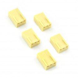 2,54 mm - socket 3-pin - 5 pcs