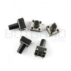 Tact Switch 6x6mm/9,5mm DIP...
