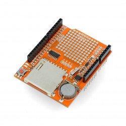 DataLogger Shield V1.0 with SD card reader for Arduino