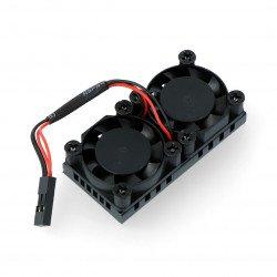 5V fan with 50x25mm heatsink