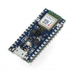 Arduino Nano 33 BLE Sense with connectors