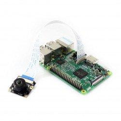 Waveshare Camera HD M OV5647 5Mpx - wide angle - for Raspberry Pi