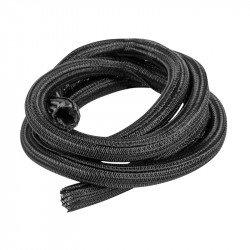 Self-closing braiding for Lanberg 19mm black polyester 2m