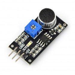 Voice detection sensor