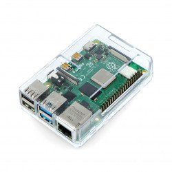 Case for Raspberry Pi 4 - ABS - transparent