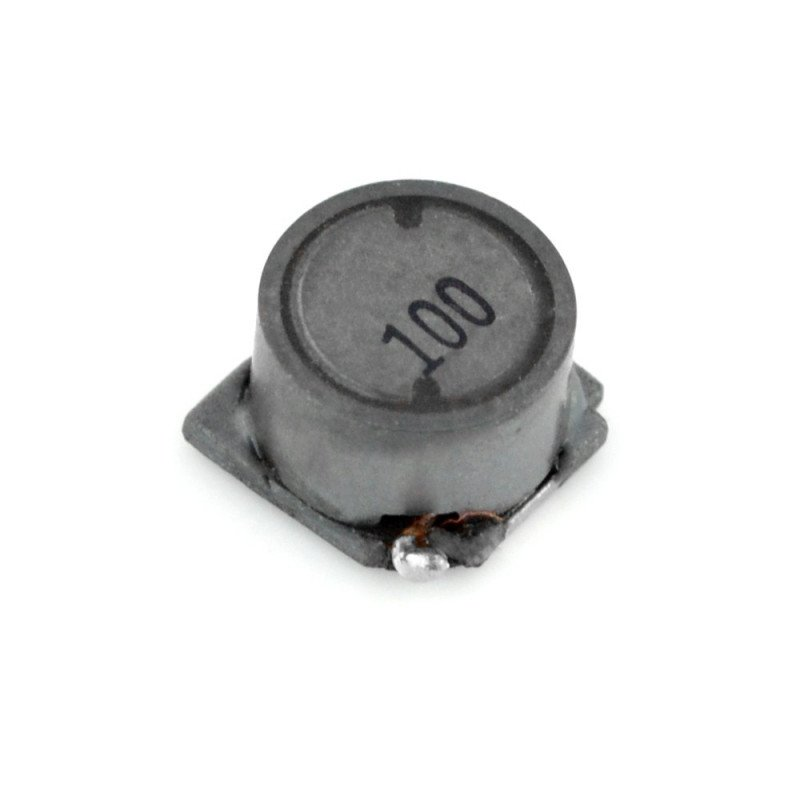 Wire gland 10uH/1,63A - DER0705-10 - SMD