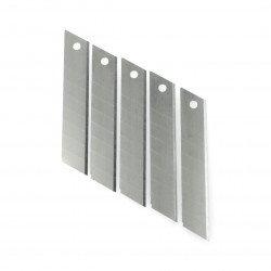Broken spare blades Vorel 18mm - 5 pieces.