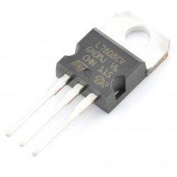 8V stabiliser LM7808 - THT TO220