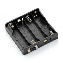 Basket for 4 AA (R6) type batteries without wires