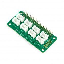 Grove - Base Hat for Raspberry Pi Zero - Overlay for Raspberry Pi Zero