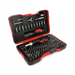 Set of torx stahlbar screwdrivers KL-17164 - 102 pieces
