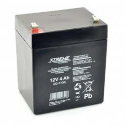 Gel rechargeable battery 12V 4Ah Xtreme
