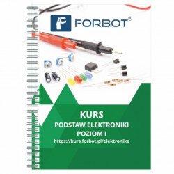 FORBOT - basic electronics course, level I - book
