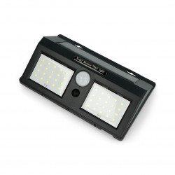 2x20 LED Solar lamp with motion and twilight sensor