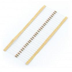 THT resistor 1/4 W 100Ω - 30 pcs.