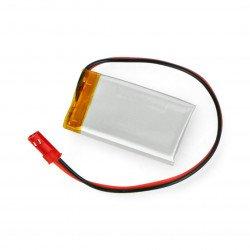 Li-Pol Akyga 3.7V 1S 270mAh Li-Pol Akyga 3.7V 1S 270mAh battery connector + socket 2.54 JST - 2 pins