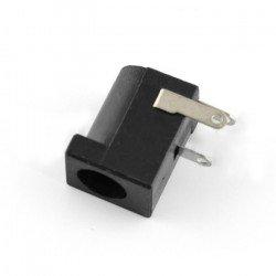 DC socket 5.5 x 2.5 mm to print - horizontal