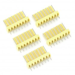 2,54 mm - plug 8-pin - 5 pcs