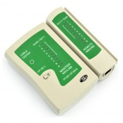 Network cables tester RJ45/RJ11_