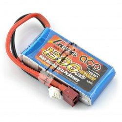 LiPol Gens Ace 1300mAh 25C 2S 7.4V package