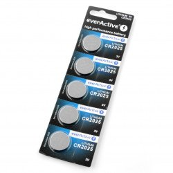 Lithium battery EverActive CR2025 3V