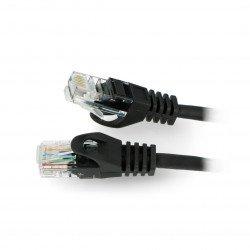 Przewód sieciowy Ethernet Patchcord UTP 5e 0,5 m - biały